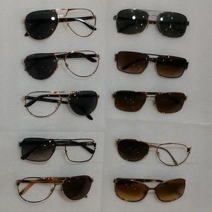 Lot #3 of 10 Versace Sunglasses Frames